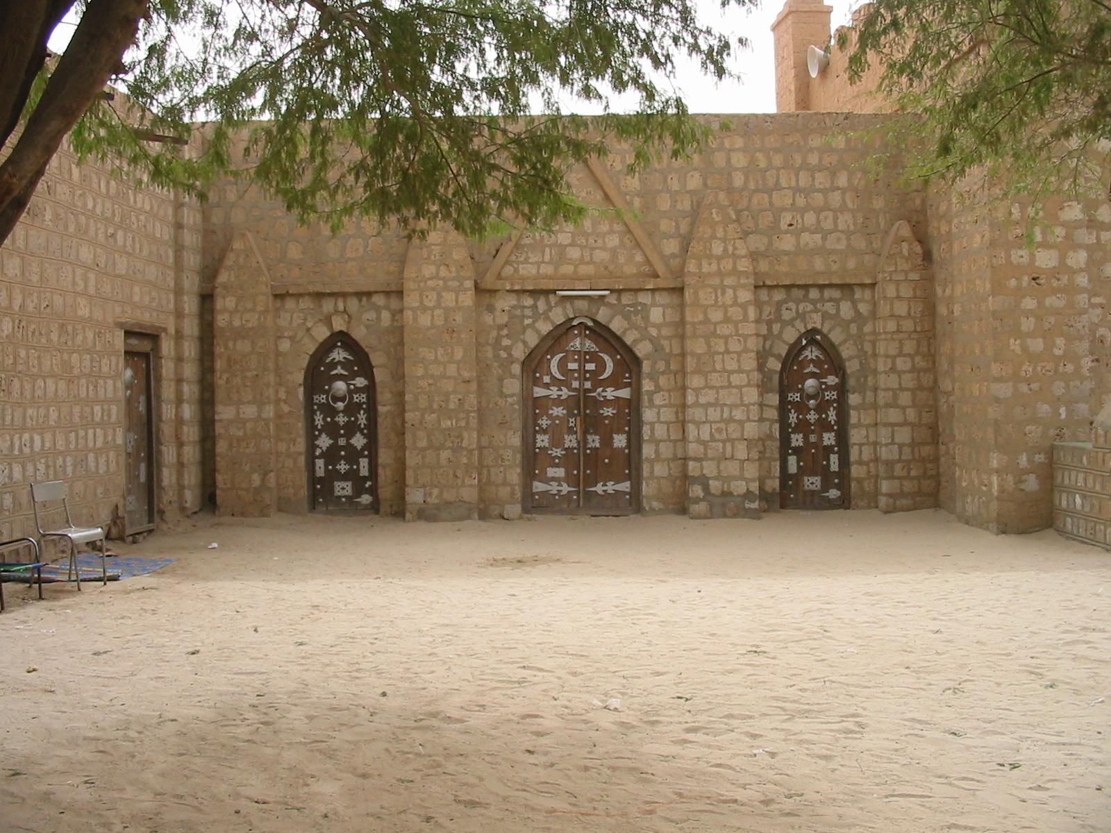 Doors of the Sidi Yehia Mosque, Timbuktu, c. KaTeznik