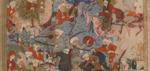 """Ali and Aisha at the Battle of the Camel"", author unknown"